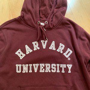 H&M burgundy Harvard University Hoodie/Sweater